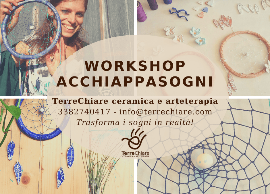 Workshop Acchiappasogni in ceramica 100% handmade